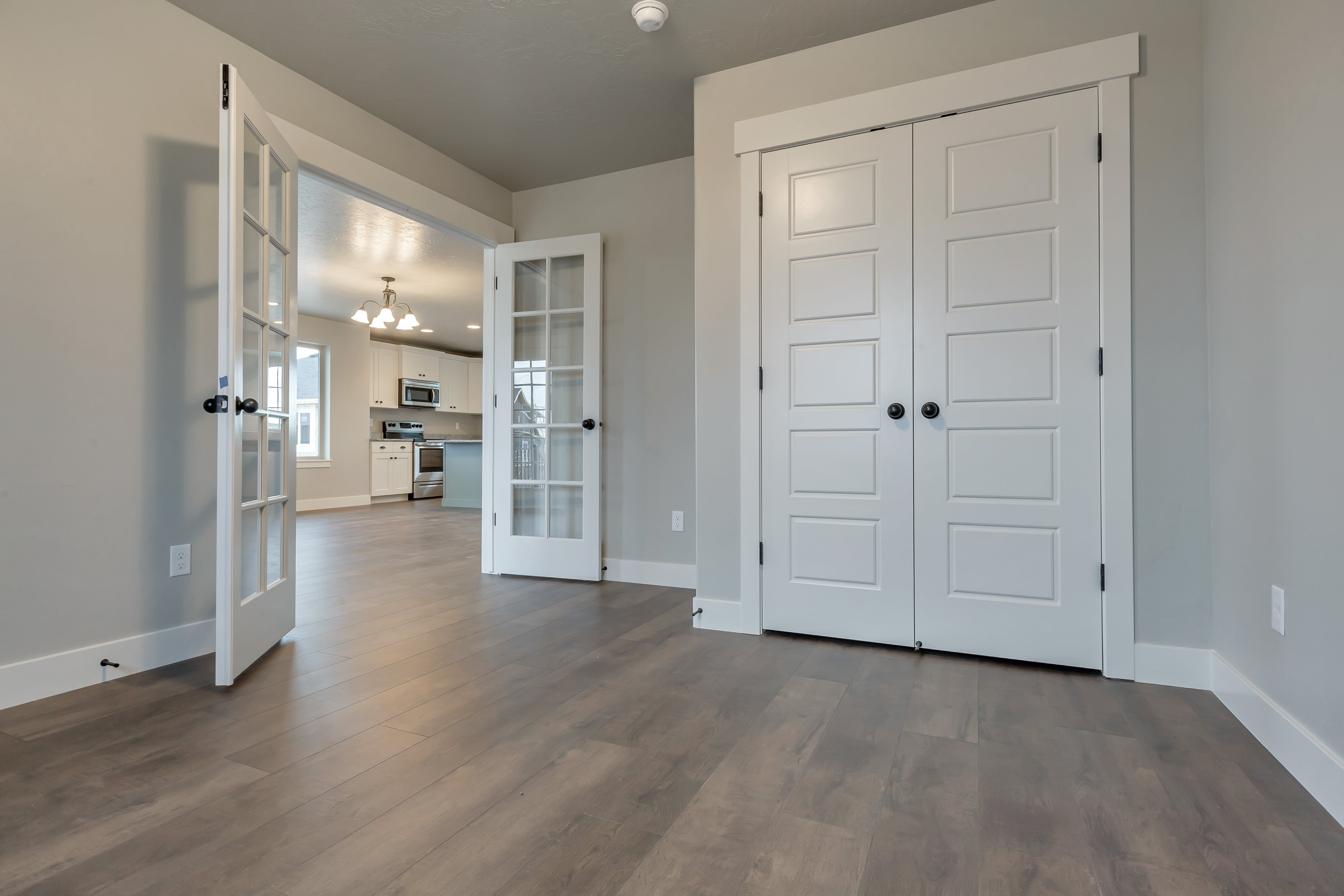 Office with Double Doors